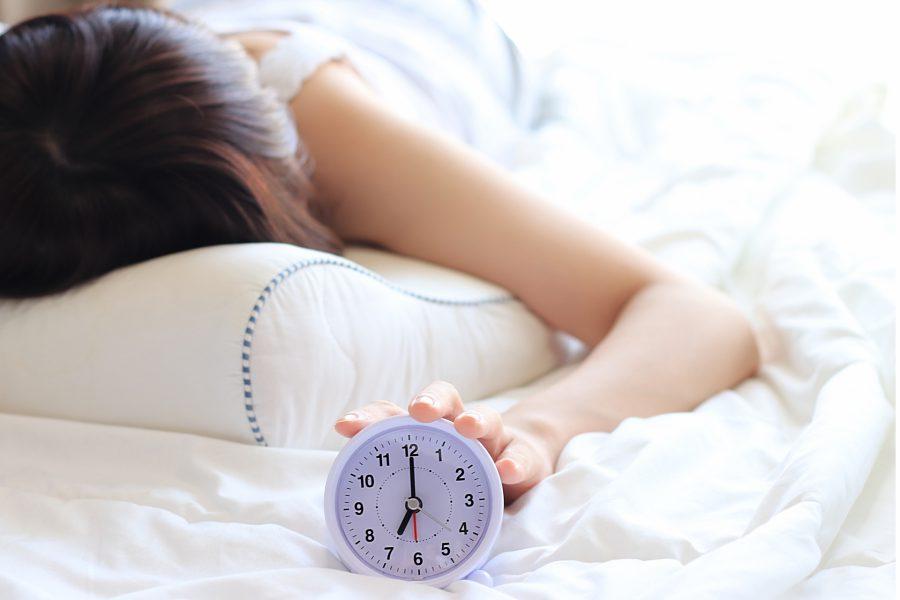 睡眠不足について